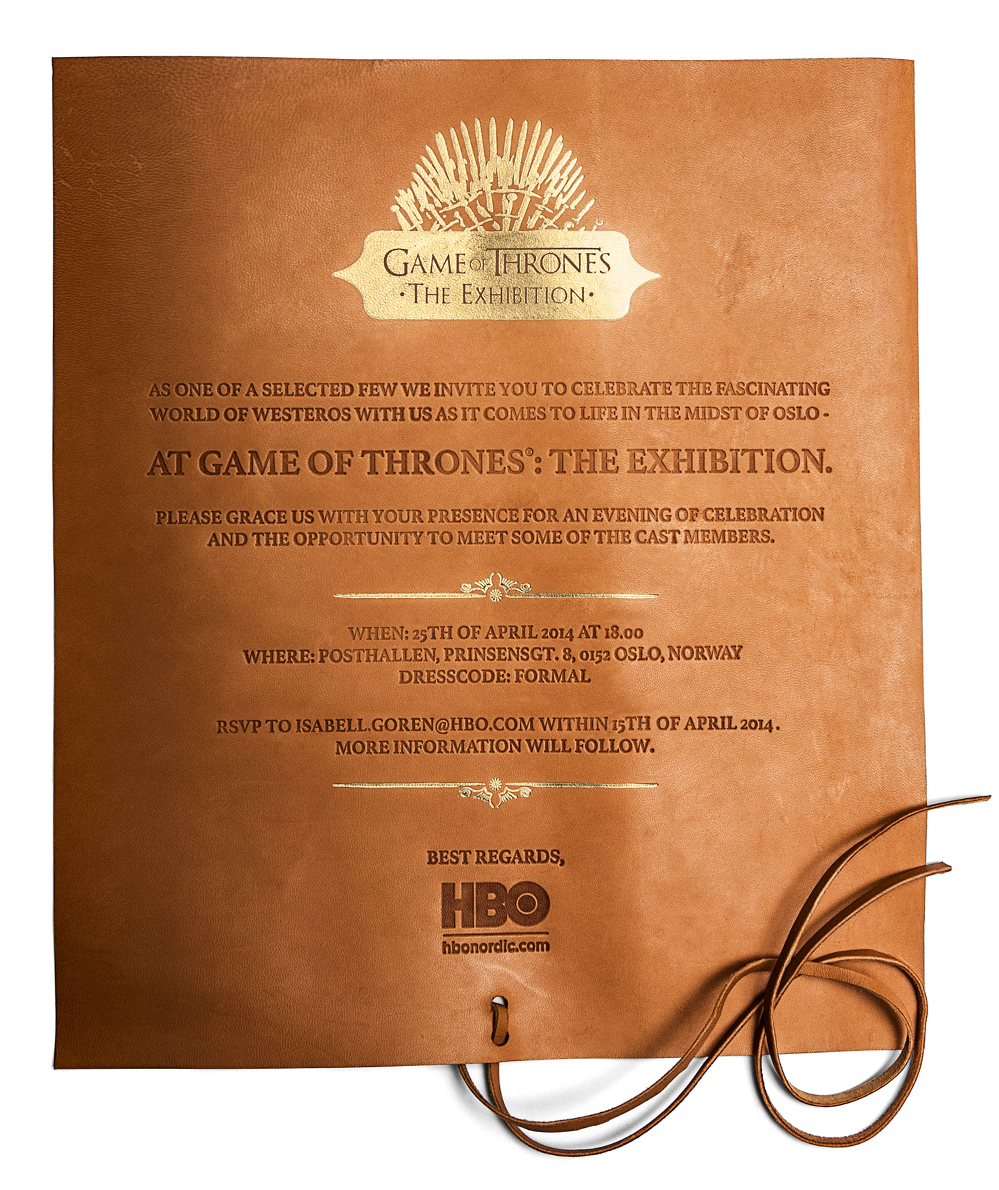 GoT Invitation 1000 bredte